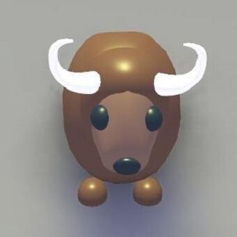 El buffalo, mascota de adopt me