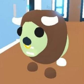 El búfalo zombie