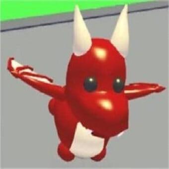 El dragón, mascota de adopt me