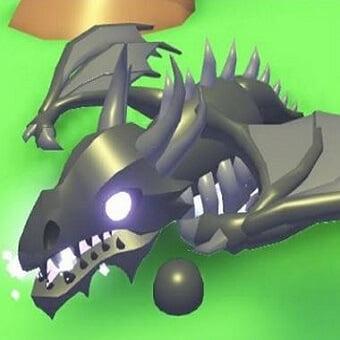 El dragón de las sombras, mascota de adopt me