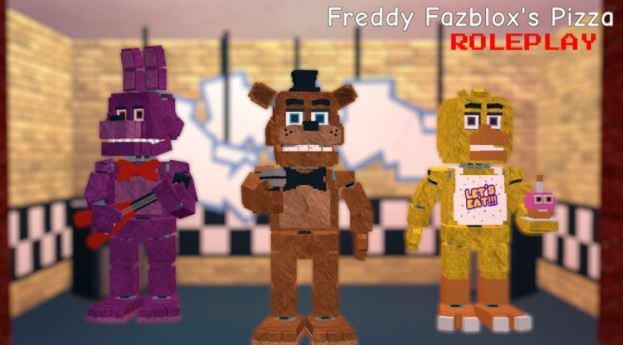 Juego Freddy fazblox pizza
