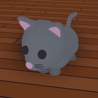 El gato, mascota de adopt me