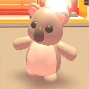 El koala, mascota de adopt me