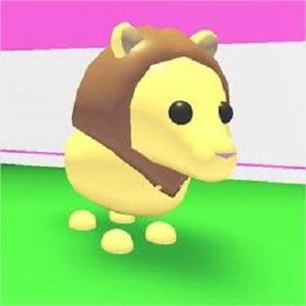 El león, mascota de adopt me