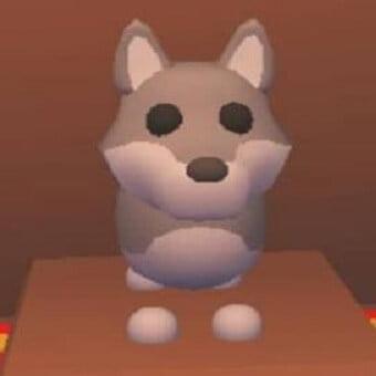 El lobo de adopt me