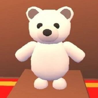 El oso blanco, mascota