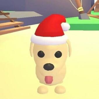 El perro de santa dálmata, mascota de adopt me