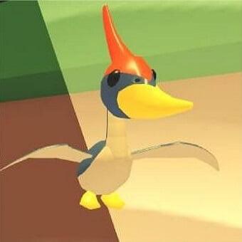 El pterodactilo, mascota de adopt me