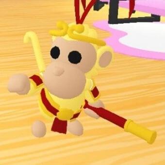 El rey mono, mascota de adopt me