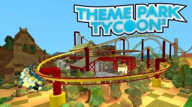 Theme park tycoon 2 para roblox.
