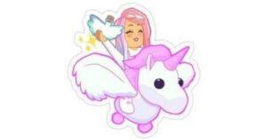 Unicornio Adopt me.