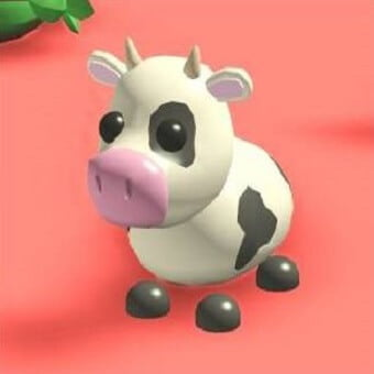 La vaca, mascota de adopt me