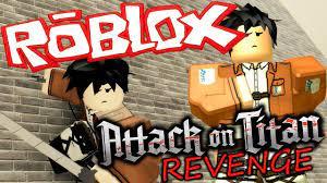 Attack on Titan. Juégalo en Roblox.