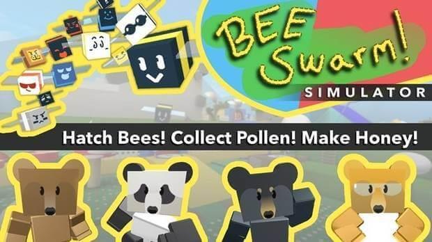 Bee swarm simulator para roblox.
