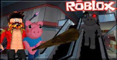 Piggy Roblox. El centro comercial.