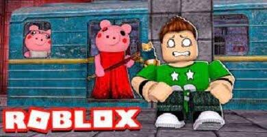 Piggy Roblox. El metro.