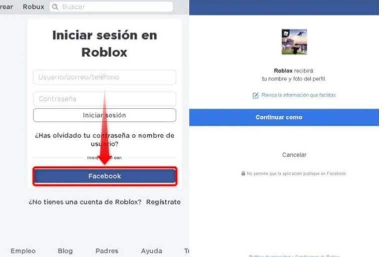 Cómo crear una cuenta en Roblox.