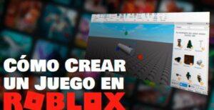 crear juego en roblox