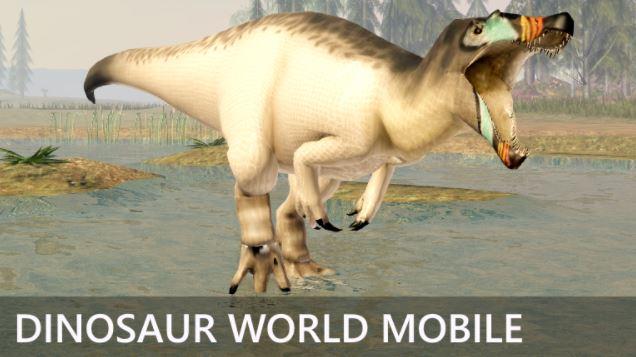 Juego Dinosaur world mobile.