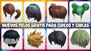 cabello gratis en roblox