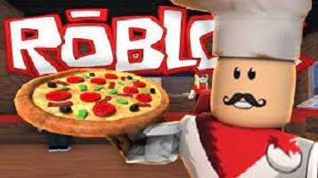 Juegos pizza en Roblox.
