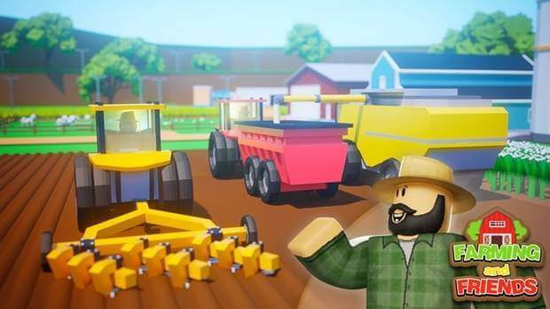 Farming and friends Roblox.