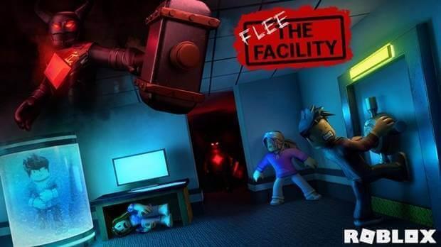 Flee the facility Roblox.