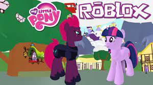 My little pony 3d. Juego de Roblox.
