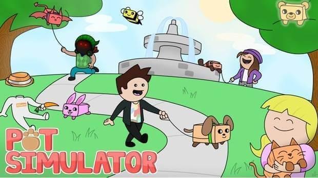 Pet simulator 2 para Roblox.