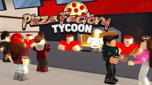 Pizza Factory Tycoon, juego para Roblox.