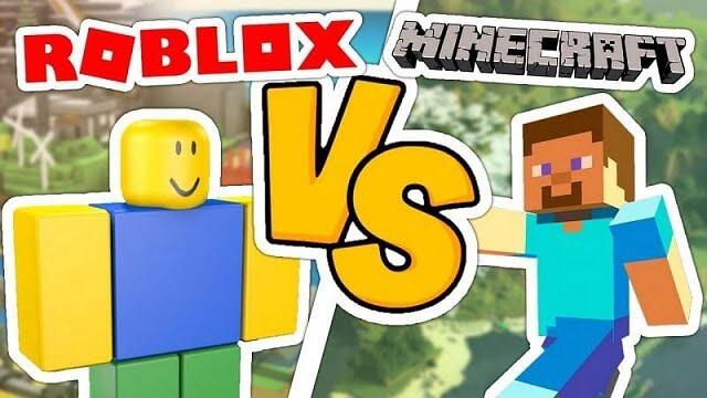 Roblox vs Minecraft. Comparativa de los dos juegos.
