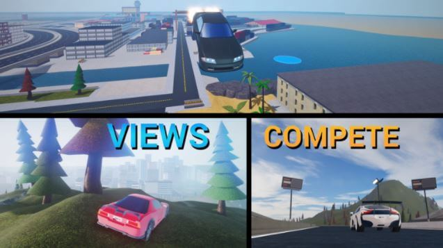 juego vehicle simulator de Roblox.