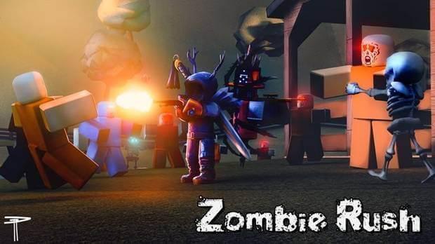 Zombie Rush para Roblox.